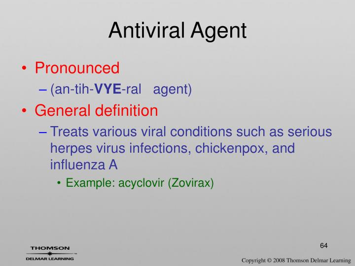 Antiviral Agent