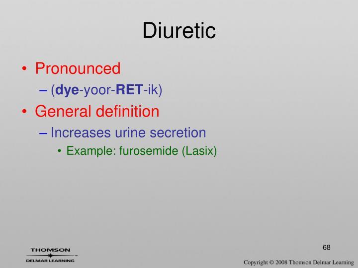 Diuretic
