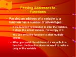 passing addresses to functions2
