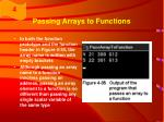 passing arrays to functions1