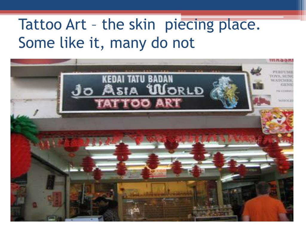 Tattoo Art – the skin  piecing place. Some like it, many do not