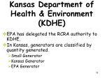 kansas department of health environment kdhe