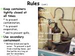 rules cont5