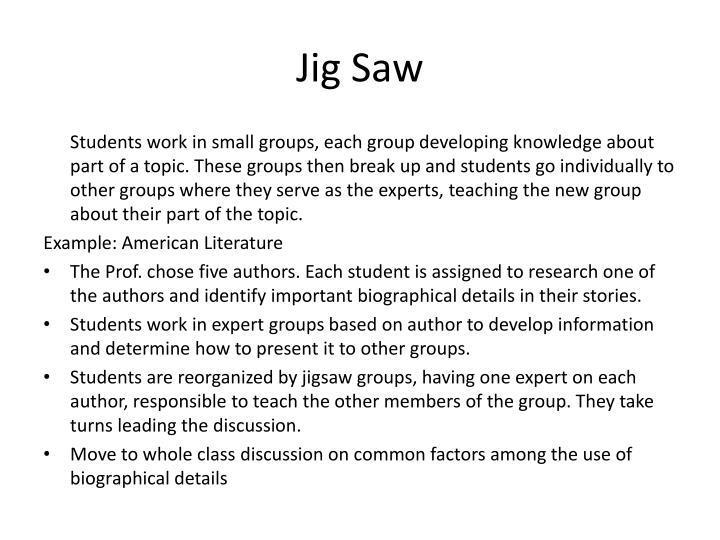Jig Saw