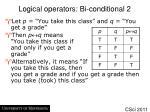logical operators bi conditional 2
