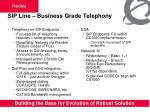 sip line business grade telephony