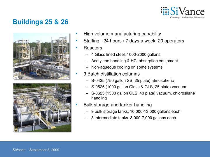 Buildings 25 & 26