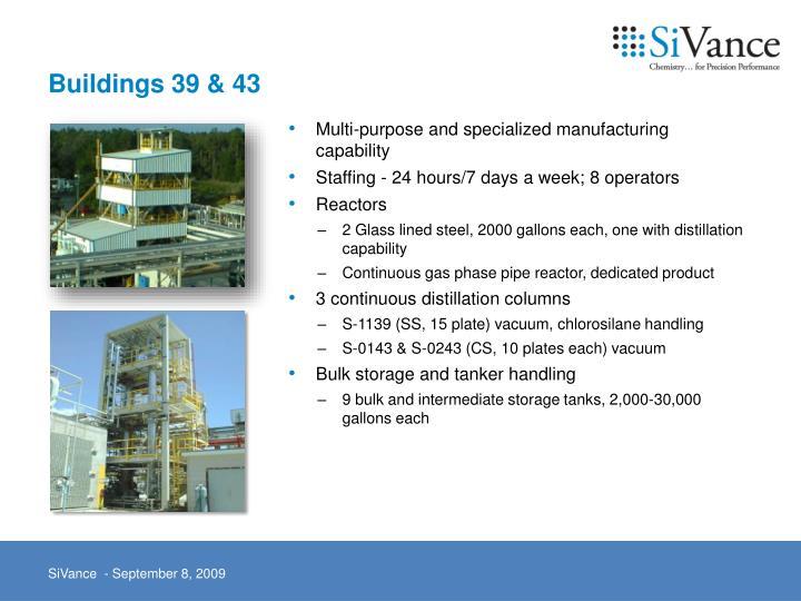 Buildings 39 & 43