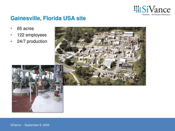 Gainesville, Florida USA site