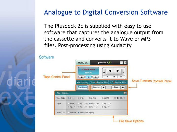 Analogue to Digital Conversion Software