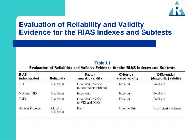 evaluation of the reliability in stock State of maryland to assess the reliability and stock offering a second component of the project is to complete an in-depth cyber security evaluation of its.