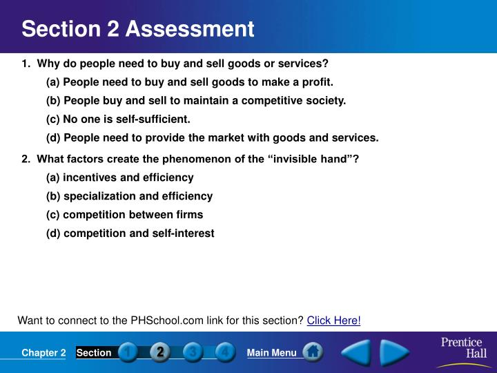 Section 2 Assessment