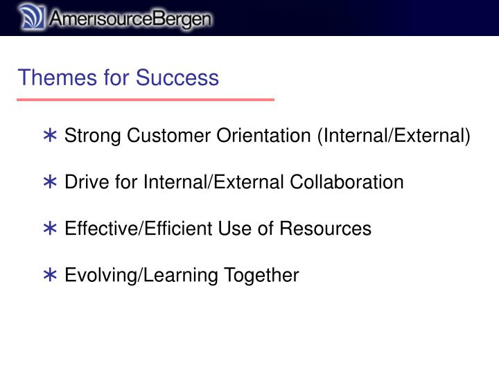 Themes for Success