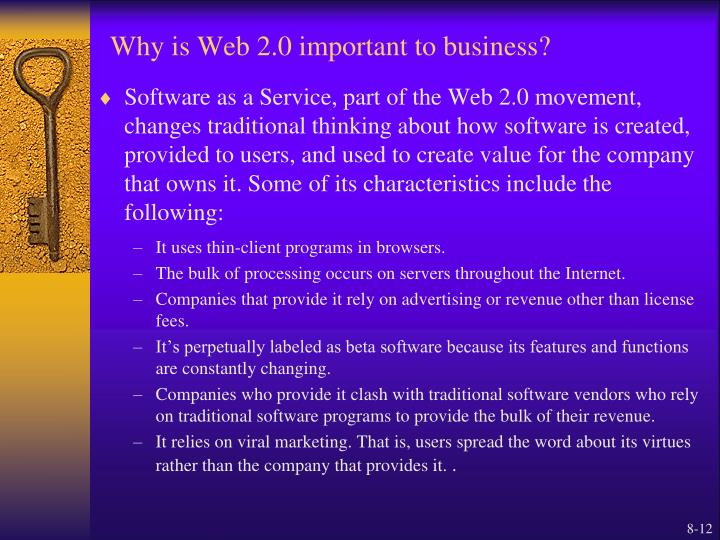 Why is Web 2.0 important to business?