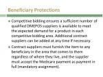 beneficiary protections beneficiary protections