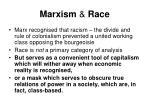 marxism race