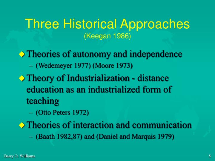 Three Historical Approaches