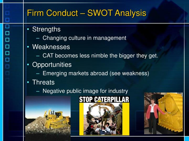 Firm Conduct – SWOT Analysis