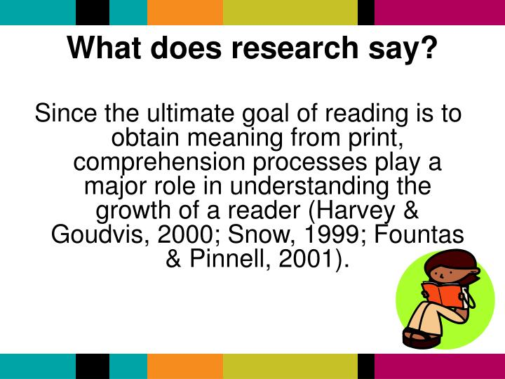 What does research say