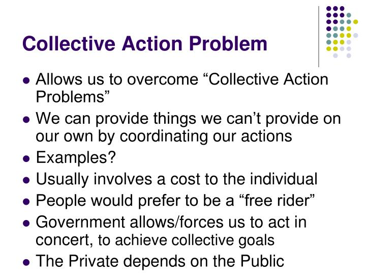 Collective Action Problem