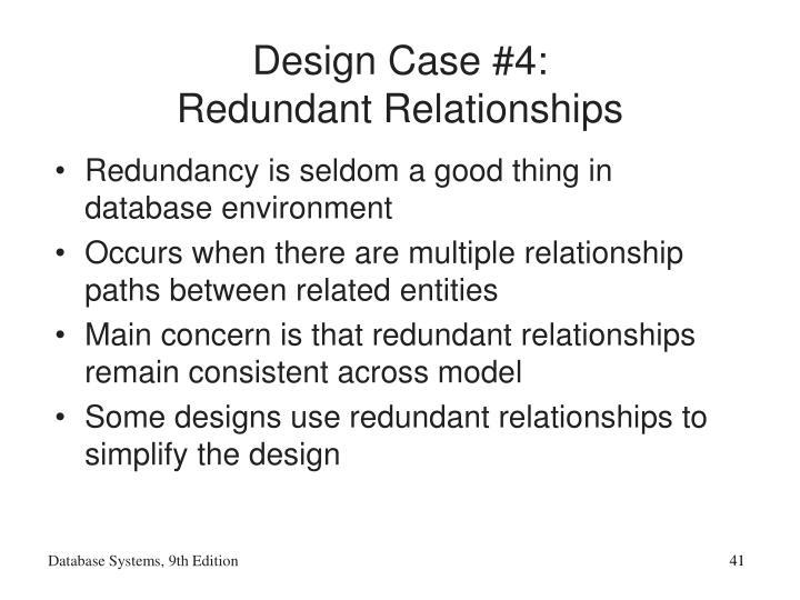 Design Case #4: