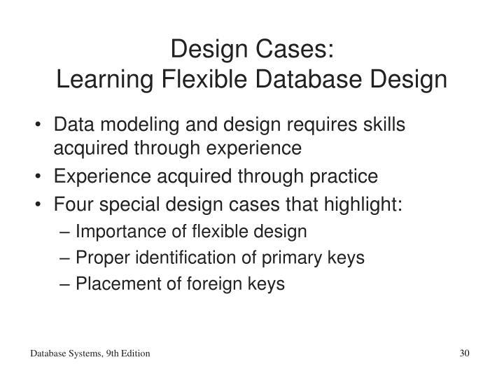 Design Cases: