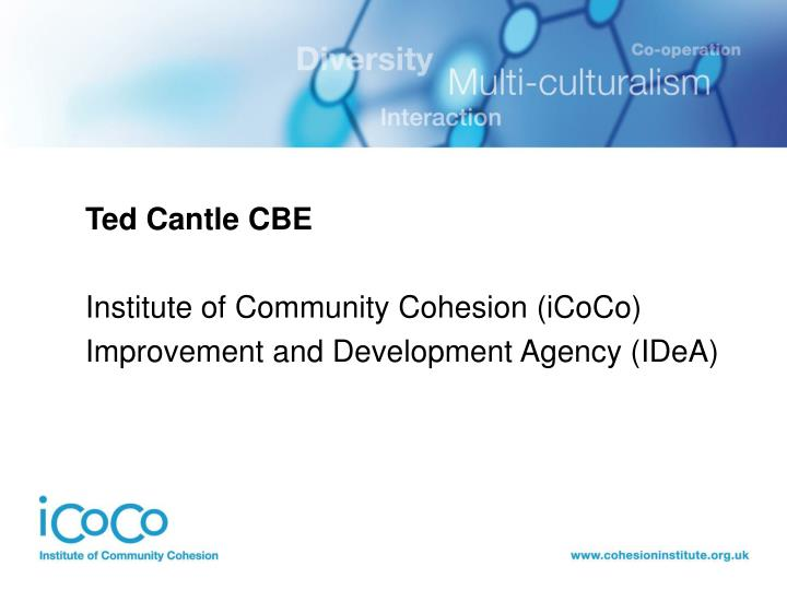 Ted Cantle CBE