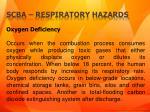 scba respiratory hazards1
