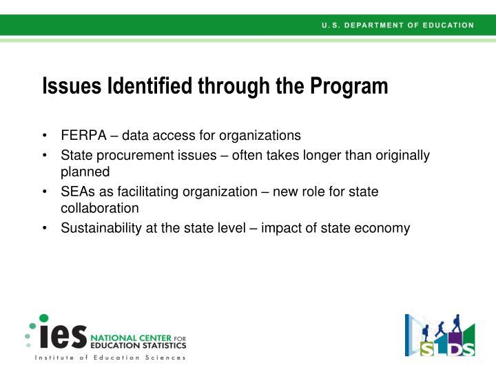 FERPA – data access for organizations