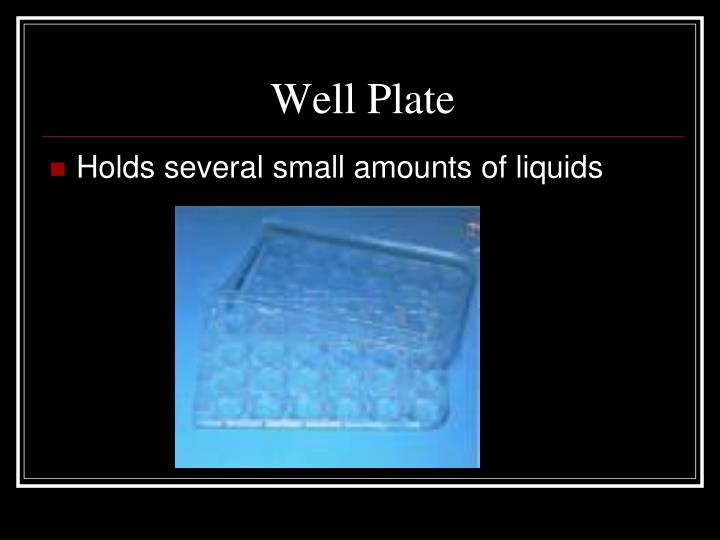Well Plate