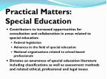 practical matters special education