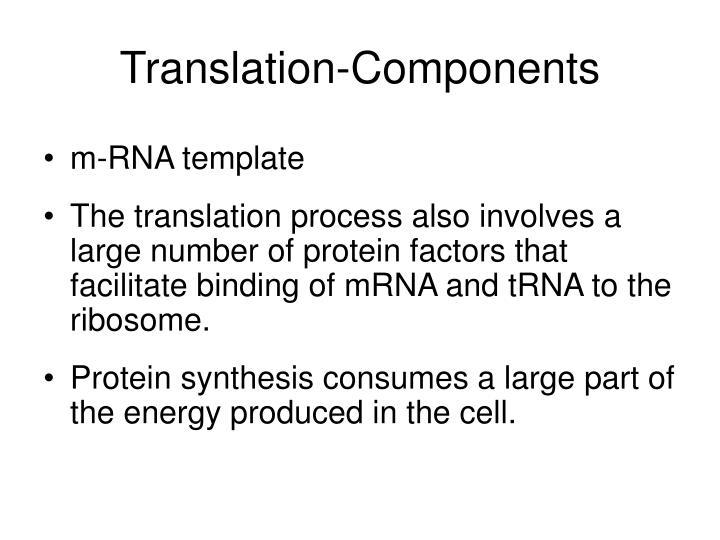 Translation-Components