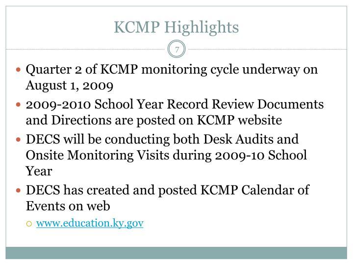 KCMP Highlights
