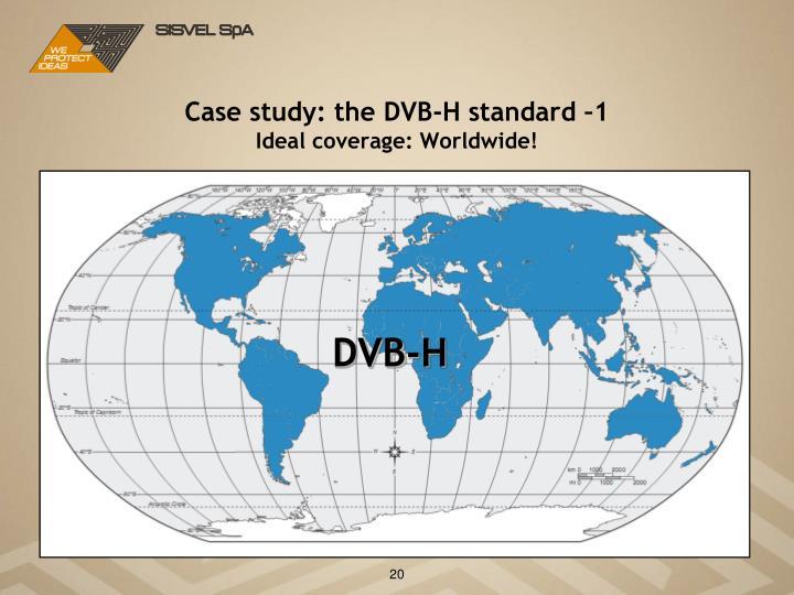 Case study: the DVB-H standard –1