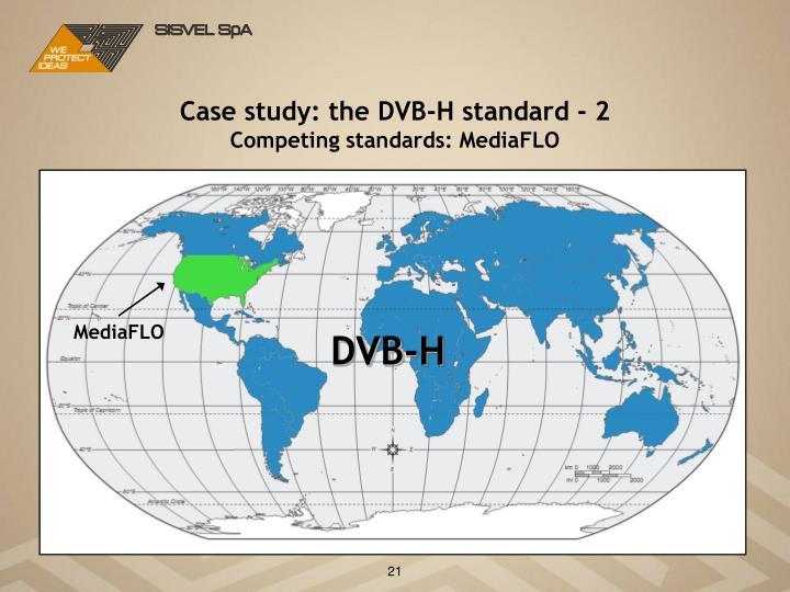 Case study: the DVB-H standard - 2