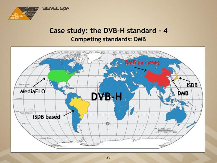 Case study: the DVB-H standard - 4