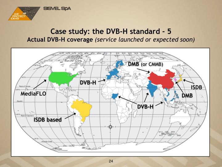 Case study: the DVB-H standard - 5