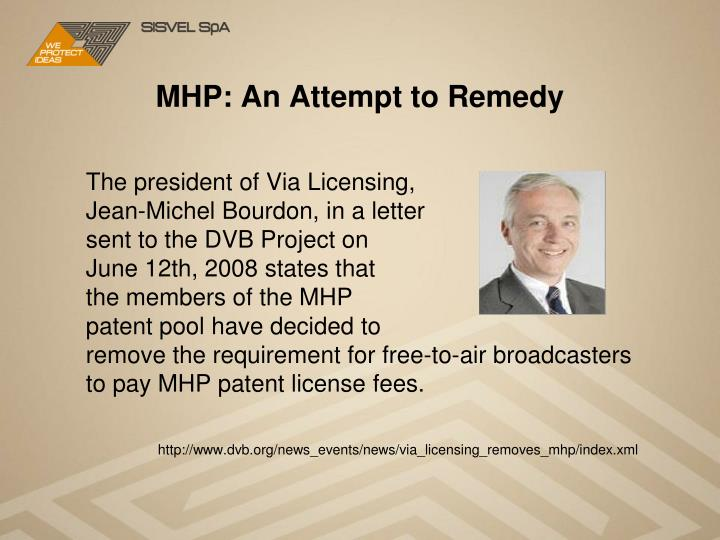 MHP: An Attempt to Remedy