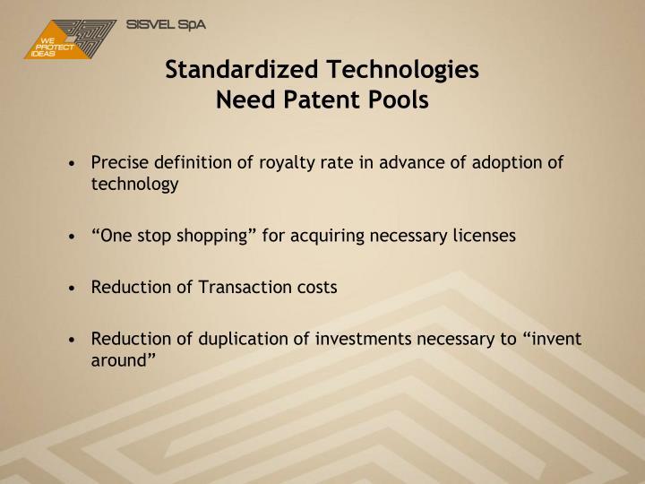 Standardized Technologies