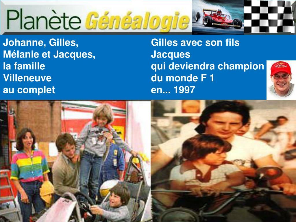 Johanne, Gilles,
