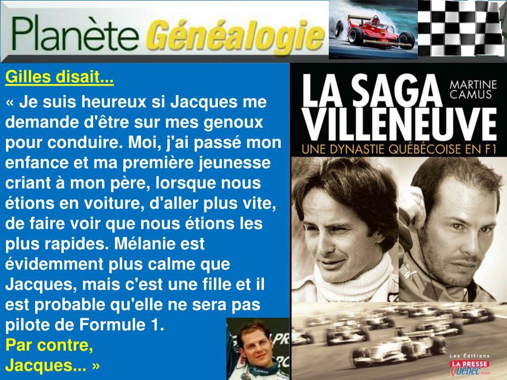 Gilles disait...