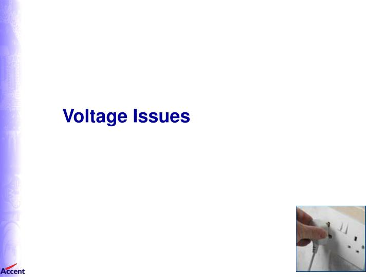 Voltage Issues