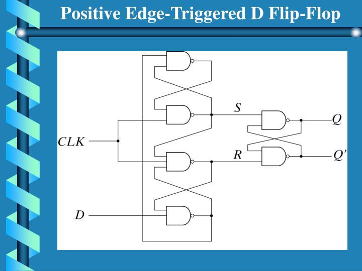 Positive Edge-Triggered D Flip-Flop