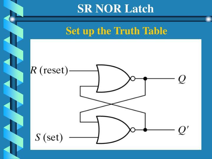 SR NOR Latch