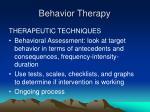 behavior therapy13
