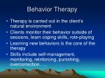behavior therapy5