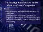 technology accelerators in the good to great companies2