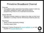 primetime broadband channel