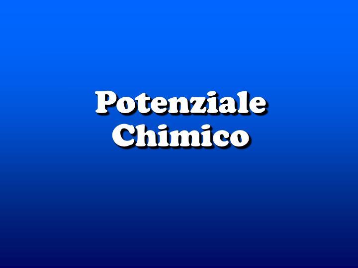 Potenziale chimico