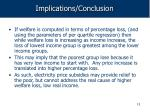 implications conclusion